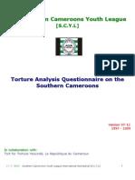 SCYL Torture Questionnaire