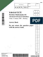 22 D1 Jan 2008 Answer Booklet