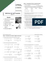 Guía 2 2011-1 DERIVADAS
