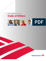 Bank of America Code of Ethics and Values