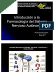 Introduccion Farmacología del Sistema Nervioso autónomo clase