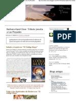 Movidas Varias_ Barbara Hand Clow_ Tributo Jesuita a Las Pleyades