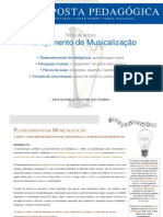 ARTIGO - Proposta Pedagógica - Planejamento de Musicalização