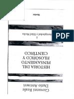 Historia del pensamiento cientifico y filosofico T.1