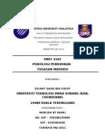 Assignment Psikologi Pendidikan