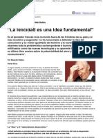 Alain Badiou La Felicidad Es Una Idea Fundamental