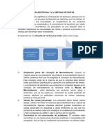 El Marketing y La Venta I Clase 2011