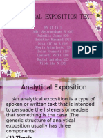 Analytical Exposition Text