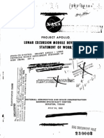 Lunar Excursion Module Statement of Work July 24, 1962