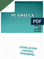 PLANILLA Leyes panamenas