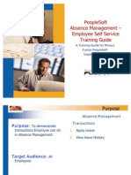 India Absence Management - Employee Guide