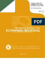María Aguilera Geografía Económica del Archipiélago 2010