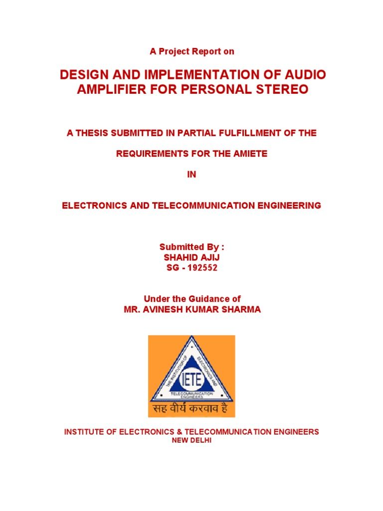 Design And Implementation Of Audio Amplifiers Amplifier Free Project Circuit Schematic Passive Baxandall Tone Control Operational