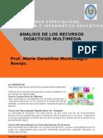 Analisis de Recursos Multimedia