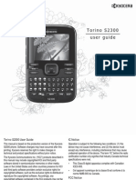 Metro Kyocera Phone s2300 User Guide En