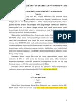 Draft Komisi HDPSDM