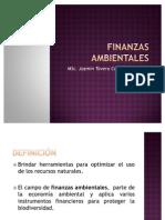 FINANZAS AMBIENTALES