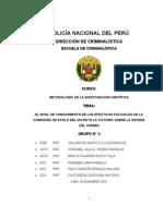 Grupo 02-La Escena Del Crimen y Su Import an CIA en El Marco Del Nuevo Codigo Procesal Penal