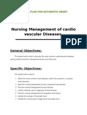 coronary artery disease nursing care plan pdf