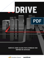 User Guide NDRIVE Symbian