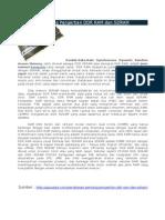 Penjelasan Pentang Pengertian DDR RAM Dan SDRAM (Tugas 1)