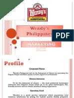 Wendy's Philippines