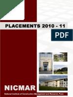 NICMAR_PlacementBrochure2010-11