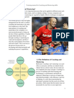 Coaching and Mentoring Manual
