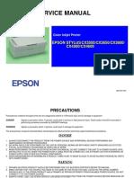 EPSON CX3500 - 3650 - 3600 - 4500 - 4600 - Service Manual