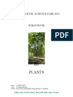 Scrap Book on Plantes - Sree Hari Work