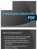 HYPERSONIC AIRCRAFTS