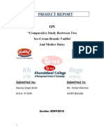 32472882 Project on Vadilal Mother Dairy by Neeraj