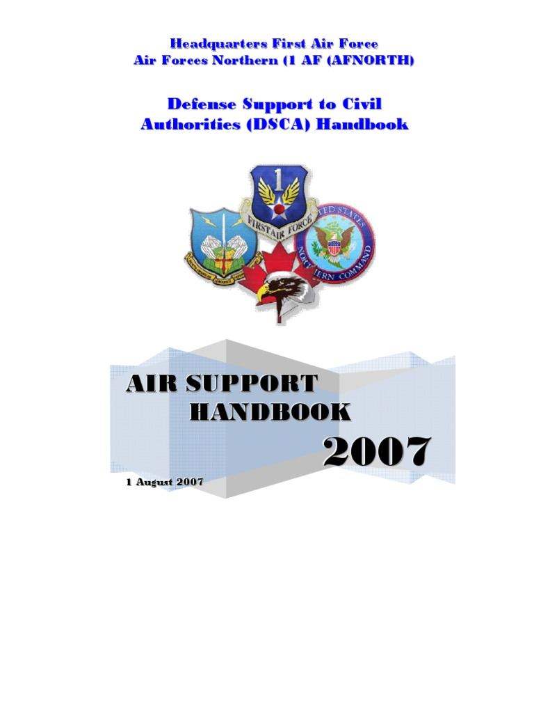 Air Support Handbook - F42AE60Ed01   United States Air Force   Search And  Rescue