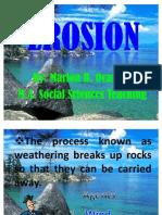 EROSION Presentation