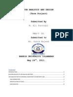 Job Analysis and Design of PA
