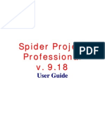 Spider Project Guide Eng