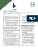 Dell Latitude XT3 Spec Sheet