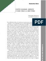 La Bruyere, artykuł