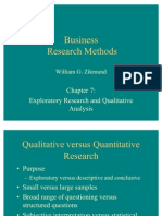 Ch07-Exploratory Research and Qualitative Analysis