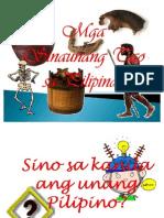 Mga Sinaunang Tao Sa Pilipinas