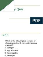 Quiz Biology