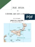 Ile Julia. Isola Ferdinandea. Graham Island 1831