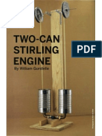 Making a Stirling Engine