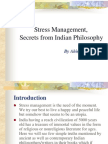 Stress Management Secrets From Indian Philosophy