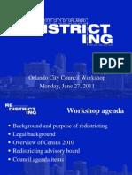 City of Orlando 20110627 Redistricting