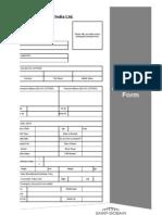 Company Application Form Sgsc