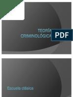 Teoras criminolgicas