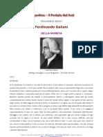 Ferdinando Galiani - Della Moneta