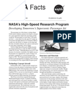 NASA Facts NASA's High-Speed Research Program 2004