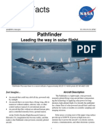 NASA Facts Pathfinder Leading the Way in Solar Flight 1998